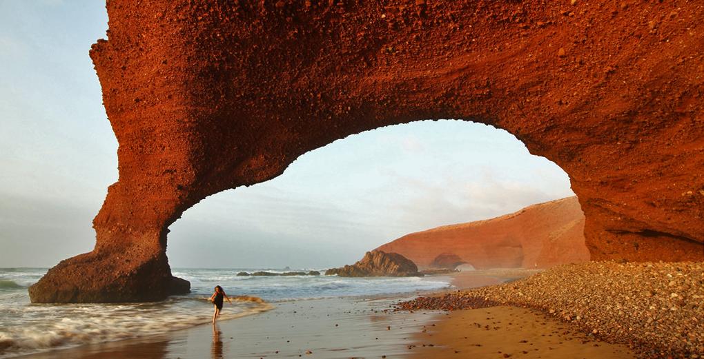Morocco Legzira Beach